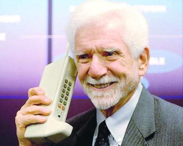 La primera llamada en telefonia movil