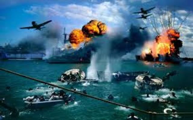 Japon ataca Pearl Harbor