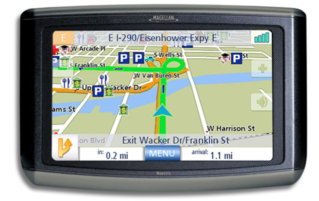 First voice assisted GPS