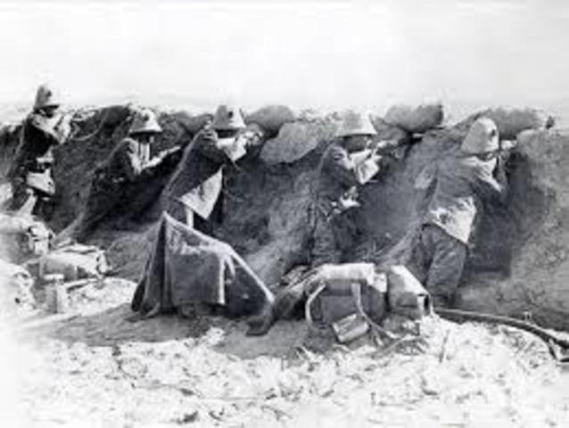 Underlying Cause- Italo- Turkish war