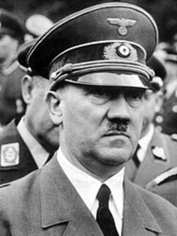 Hitler tar självmord