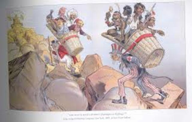 White Man's Burden- political cartoon