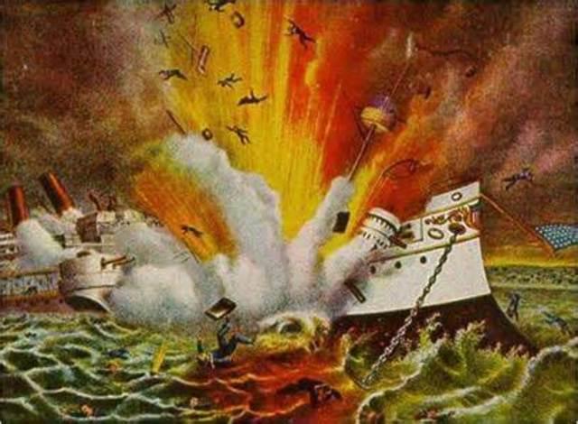 USS Maine Explosion