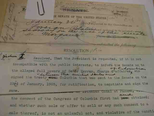 Hay-Herrán Treaty is Signed