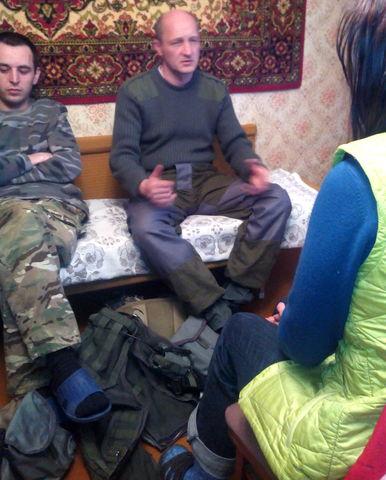 Интервью с добровольцами батальона «Днепр-1»