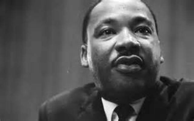 Martin Luther King Jr. Is born