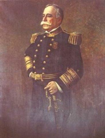 George Dewey invades the Philipines
