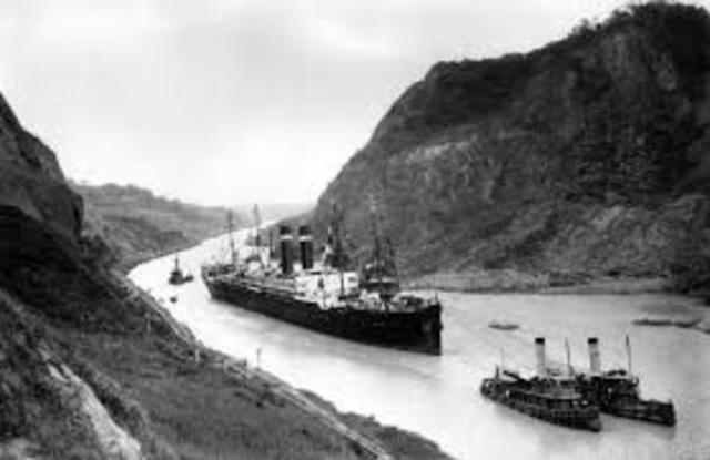 Panama Canal start-finish