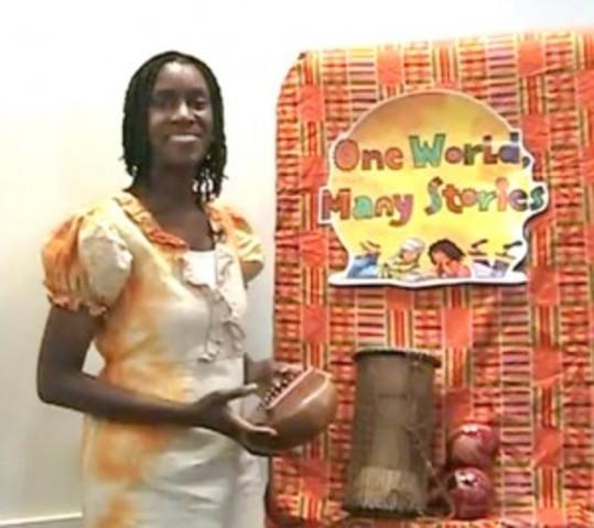 3rd grade Diane Macklin - Storyteller