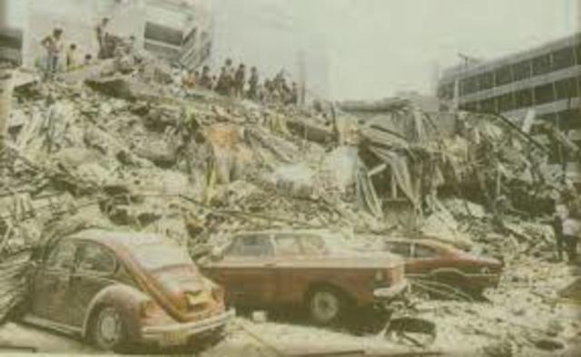 Terremoto en la Ciudad de México 8.1