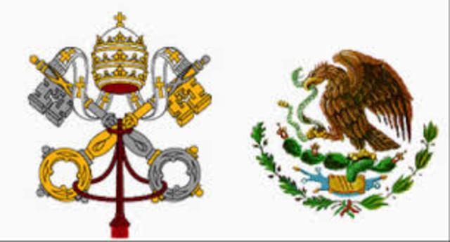 Relación diplomáticas con el Vaticano