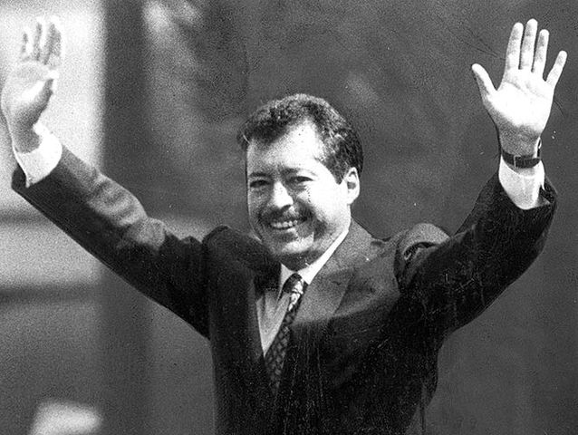 Candidato Presidencial Luis Donaldo Colosio