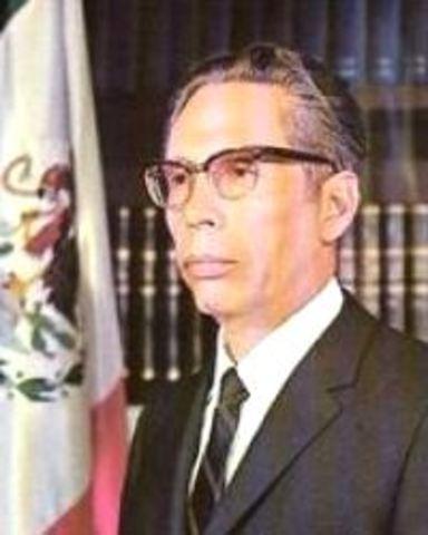 Gustavo Diaz Ordaz becomes president
