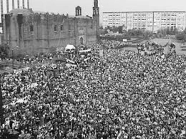 Tlatelolco's massacre