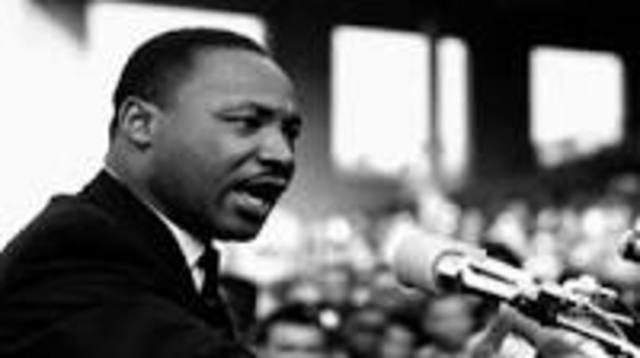 Martin Luther king was assasinated