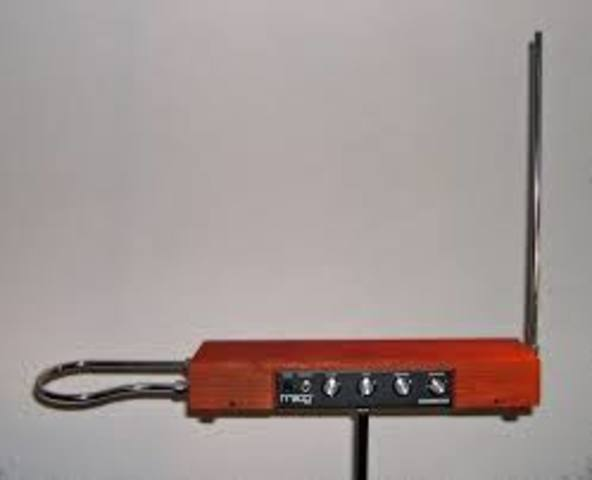 Inventing the Theremin