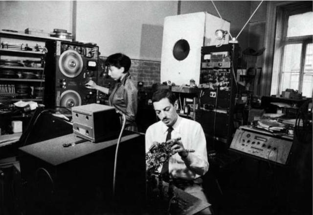 First Electronic Music for Magnetic Tape Written in the US
