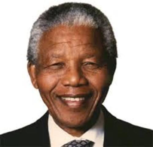 Nelson Mandela is arrested