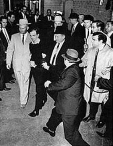 Lee Harvey Oswald was kiled