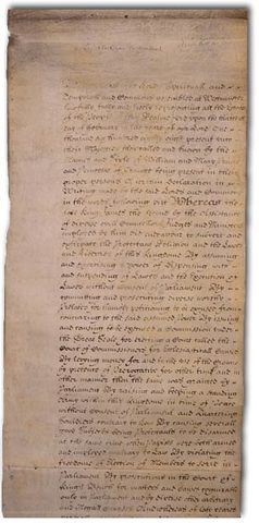 Implementation of the English Bill of Rights