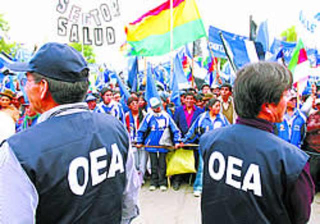 Misión de Observación Electoral de laOEA en Bolivia, Diciembre de 2005