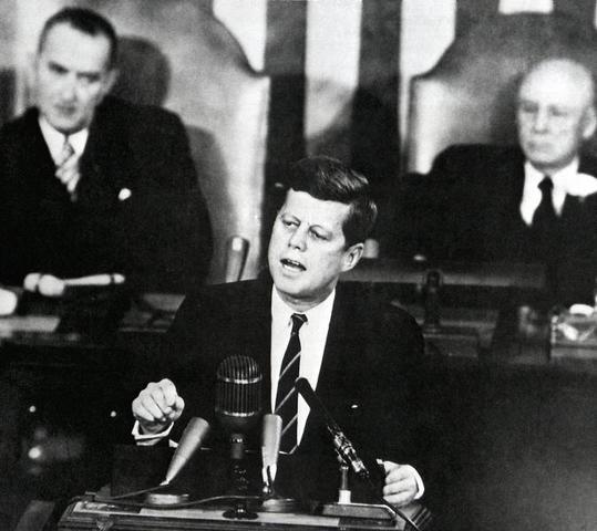 Urgent National Needs speech by President John F. Kennedy