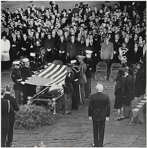 Arlington National Cemetary funeral of President Kennedy