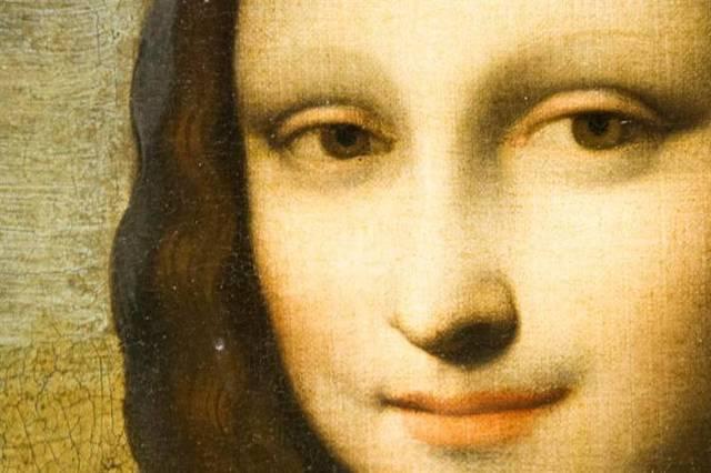 Leonardo da Vici pinta la Gioconda