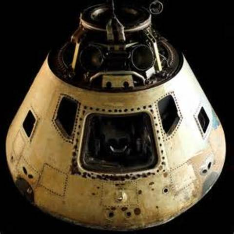 Apollo I was launched by the U.S.  Preperation for the lunar landing.