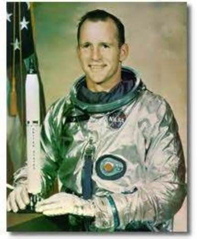 Gemini VI stayed aloft for four days with astronut Edward H.White II