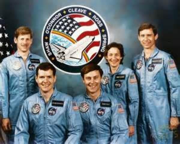 Space Shuttler Challenger destroyed