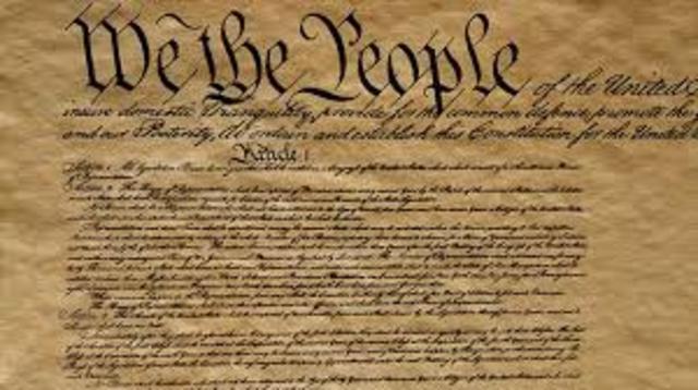 Last state ratifies U.S constitution