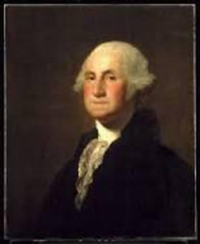 George Washington inaugurated