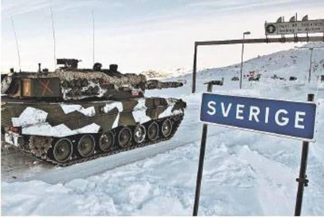 Tyskland Anfaller Norden