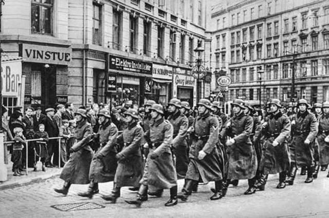 Tyskland ockuperar Danmark och Norge