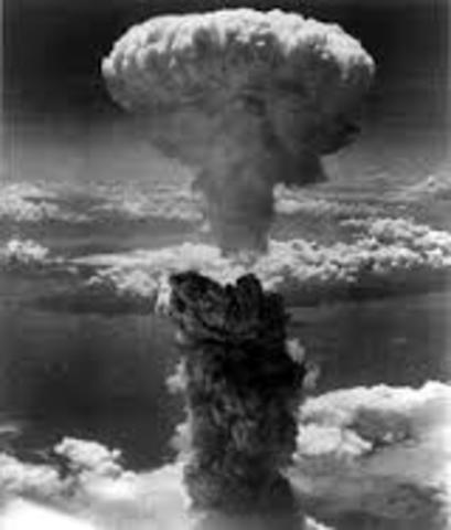 Amerikanerna andvänder atombomber