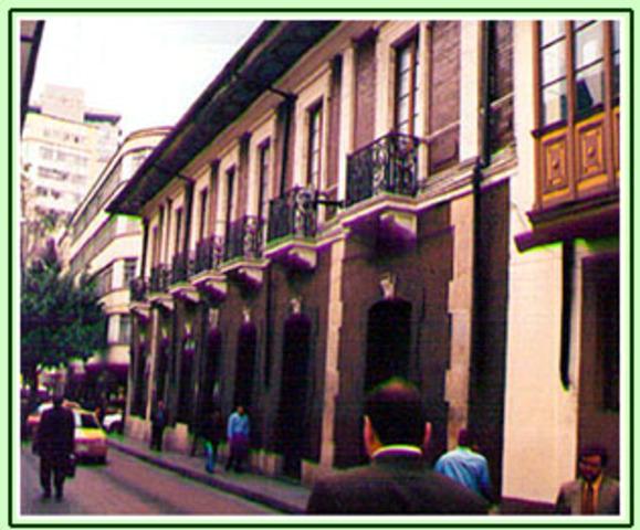 NACIMIENTO DEL COLEGIO LA GRAN COLOMBIA