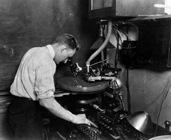 The first electrical recordings was issued