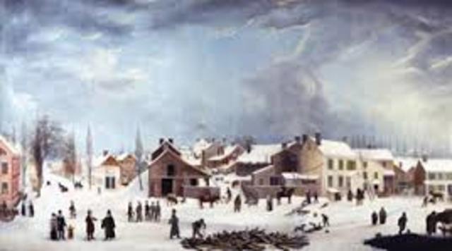 Winter Scene in Brooklyn by Guy