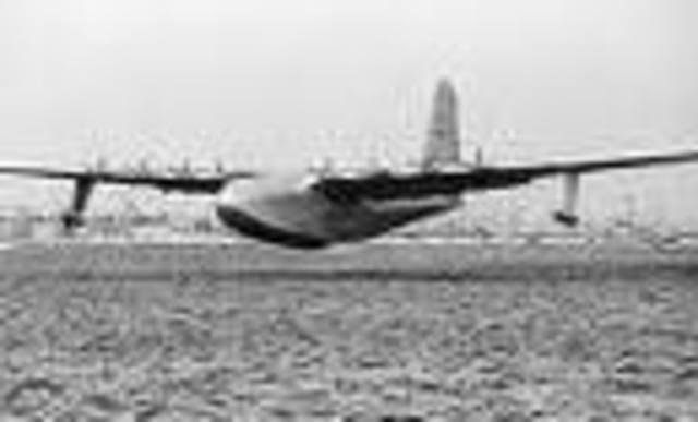 Spruce Goose Built