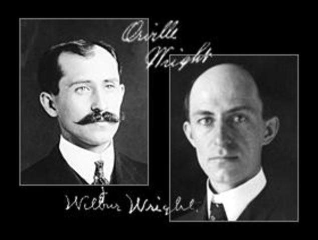Wright Brothers Create First Aeroplane