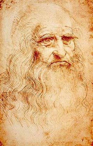 Leonardo Da Vinci Creates Flying Machine