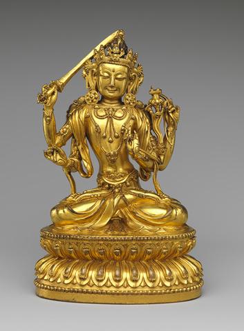 Bodhisattva Manjushri as Tikshna-Manjushri