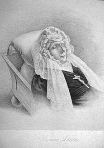 Napoleons mom dies