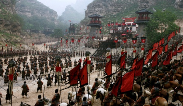 Han armies conquer the region