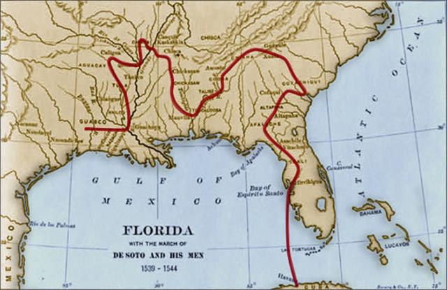Hernando de Soto and Florida