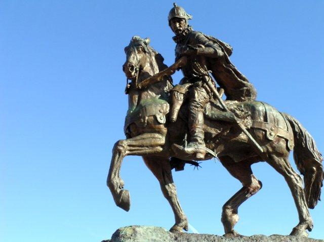 Don Juan de Onate and Santa Fe