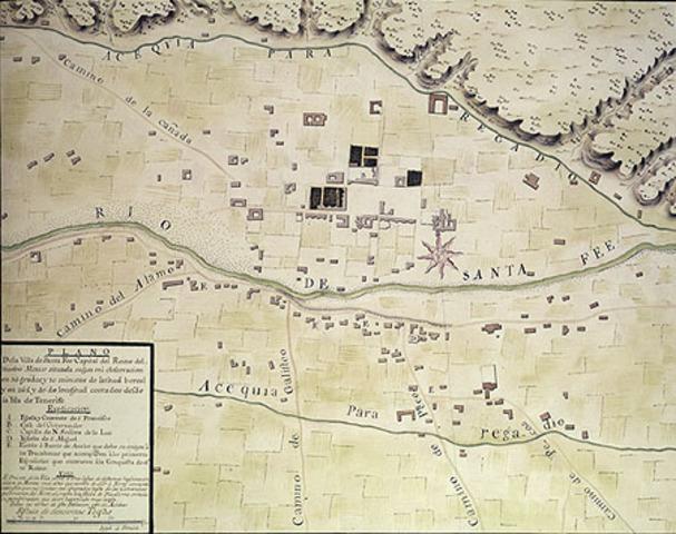 Santa Fe formally founded