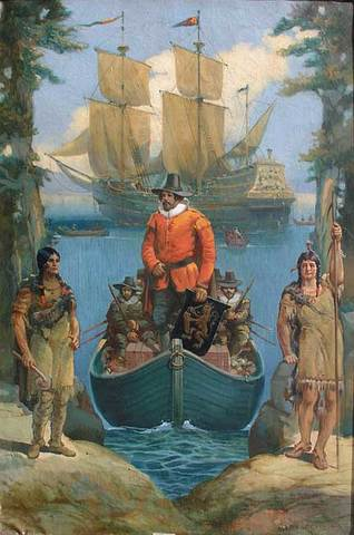 Henry Hudson and New Amsterdam