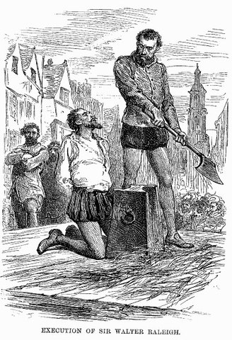 Walter Raleigh killed